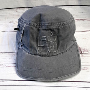 4/$25 Koala Kids gray distressed engineer cap hat